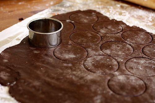 Chocolate Espresso Sandwich Cookies - Joy
