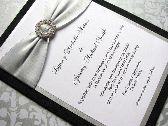 Bling Wedding Invitations 017 - Bling Wedding Invitations