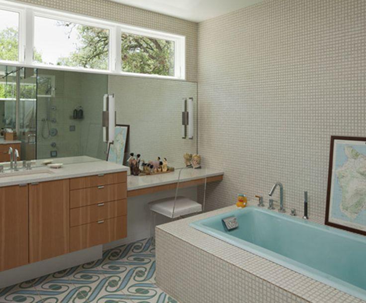 Mid Century Bathroom Tile Mid Century Modern Ranch Home Vim Amp