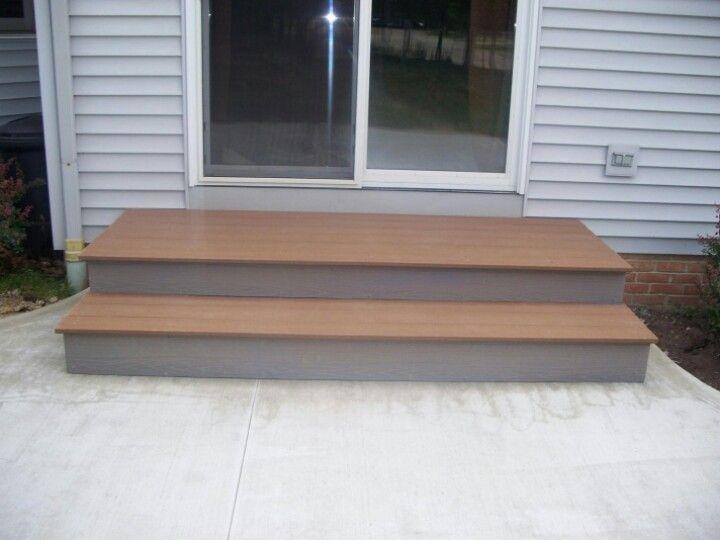 patio step idea foursquare exterior