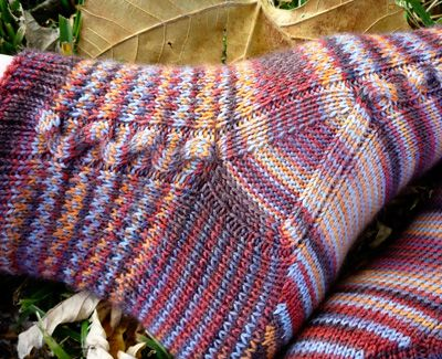 Chimaera socks: Knitty Winter 2012 | Knitting | Pinterest