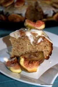 dishmaps figs spiced honey cake with caramelized figs figs ...