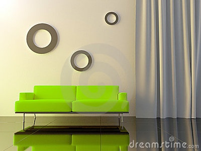 bright green sofa one day we 39 ll have a house together