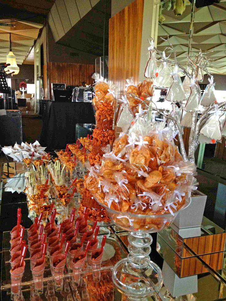 Mesa de postres para tu evento especial candy dessert - Postres para mesa de dulces ...