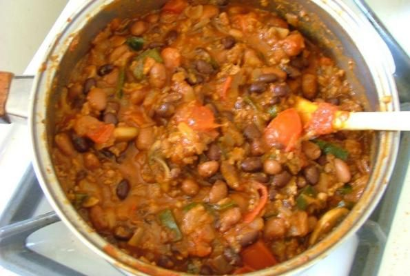 Basic Vegetarian Chili Recipes — Dishmaps