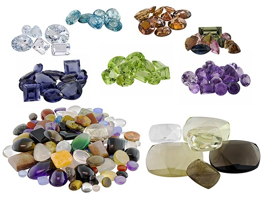 My hobby..collecting gems and making jewelry!