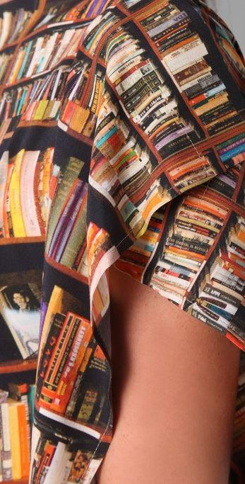 Neues von der Berliner Fashion Week: das Book-Shirt