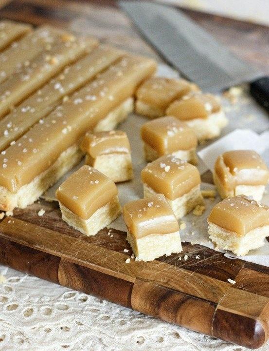 Salted caramel shortbread | Sweet Tooth | Pinterest