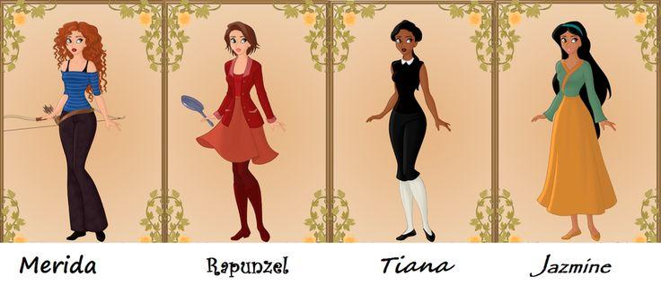 Modern disney princesses modern disney princesses by