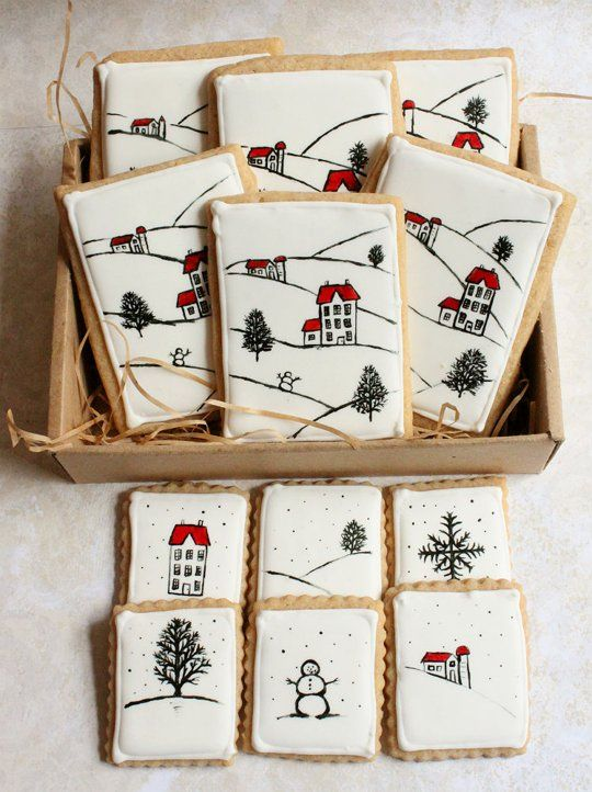 Two for One! Turn Your Cookies Into Holiday Cards | The Kitchn