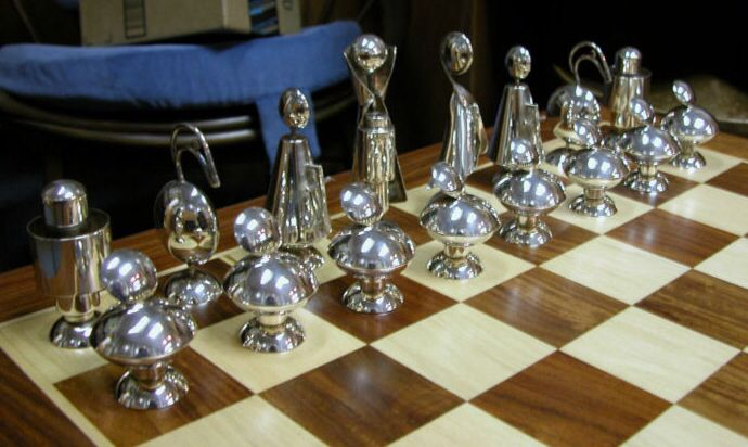 Pin By Rikki Reeves On Mid Century And Cool Chess Sets