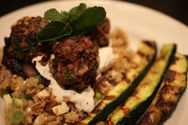 The Curated House: Foodie Fridays | Mediterranean Lamb Meatballs with ...