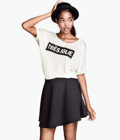 Tres Jolie top | H&M US | get in my closet | Pinterest