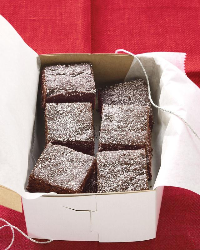Chocolate Gingerbread Bars from Martha Stewart.