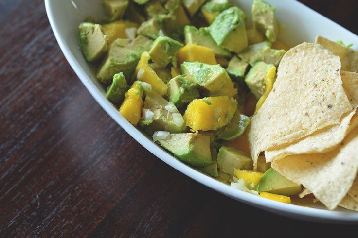 the sprouted kitchen's | mango guacamole | Gluten Free | Pinterest