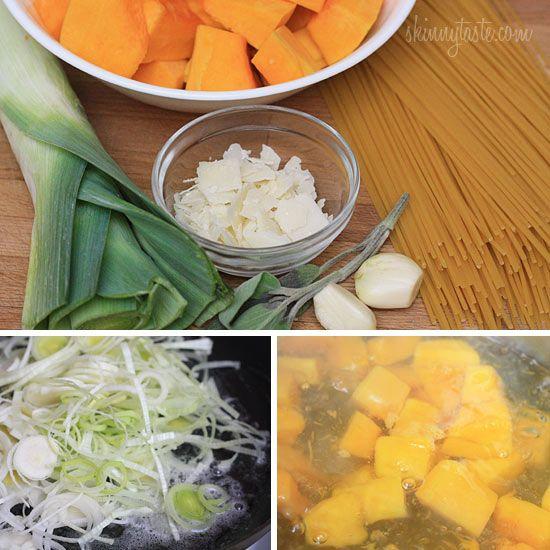 Pasta With Butternut Parmesan Sauce Recipes — Dishmaps