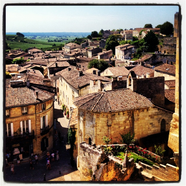 Saint Emilion, France puts Napa Valley to shame! This place is incredible.