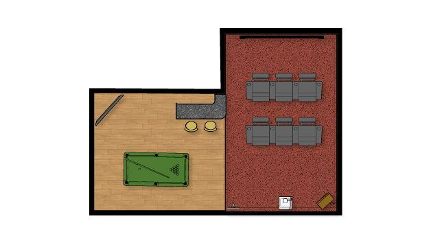man cave floor plan man cave designs pinterest our dream home in naples man s cave amp his office