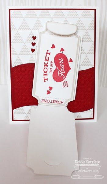 valentine's day ticket design