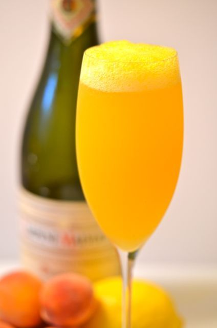 The Bellini | So You Think You Can....Drink | Pinterest
