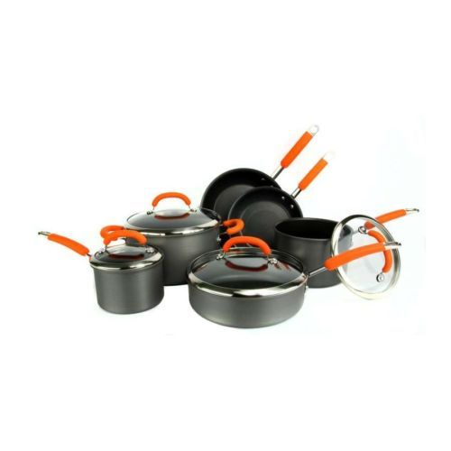 Rachel Ray Orange Cookware Rachel Ray Cookware Non Stick Cookware Pots ...