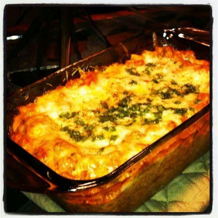 There Cheese Three Meat Lasagna | Yummy Yummy Yummmy | Pinterest