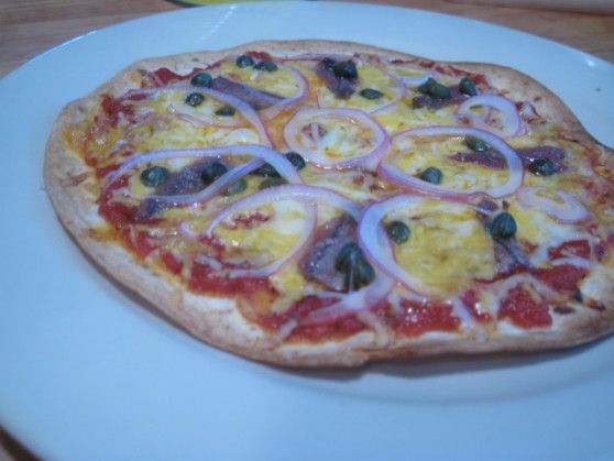 Tortilla Pizza Recipe - Tortilla Pizzas are so easy to make. All you ...