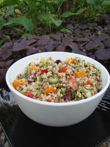 Quinoa salad. Quick and simple! | Quinoa Salads | Pinterest