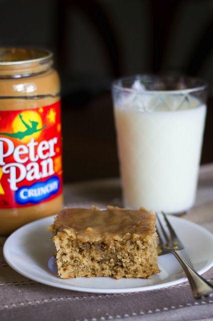 Peanut Butter Banana Cake   Kendra's Treats - recipes   Pinterest