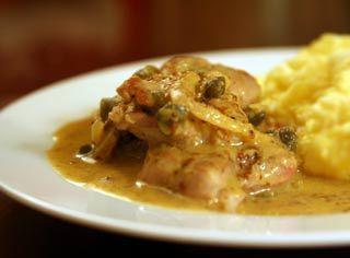 Pork Medallions with Mustard-Caper Sauce | Recipe