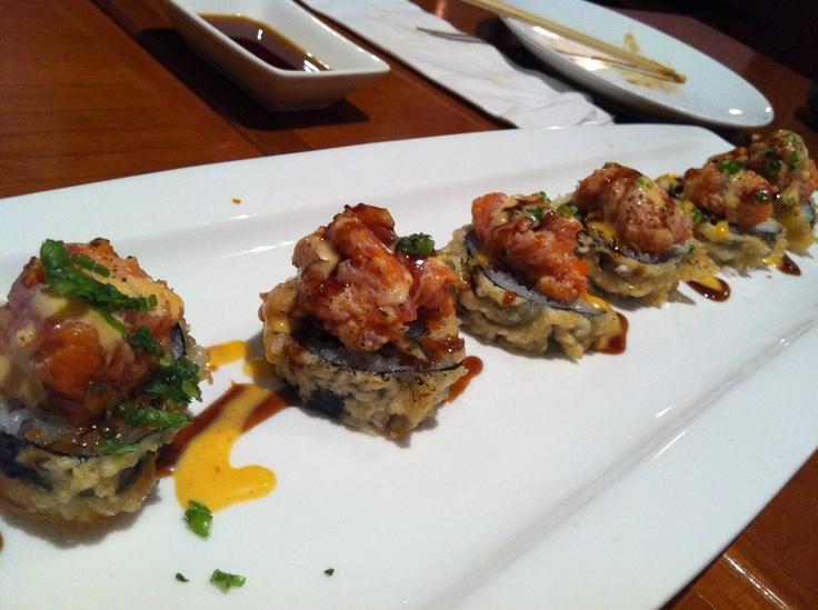 Volcano #sushi #roll | Sushi | Pinterest