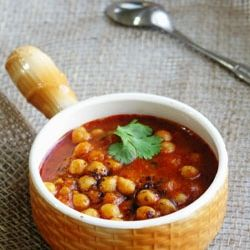 Chickpeas with Roasted Cumin and Tomatoes - a soup or a curry? easy ...