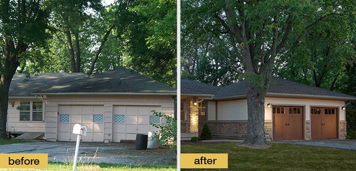 Ranch style home exterior makeover for the home pinterest
