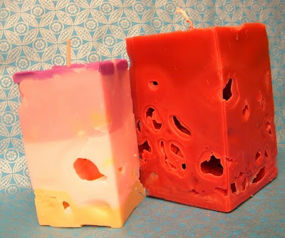 Ice Cube Candles