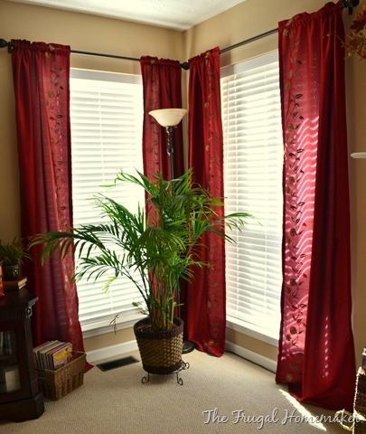 3 Tips On How To Hang Your Curtains To Make Ceilings Look