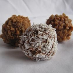 Easy Decadent Truffles | For my home and my family | Pinterest