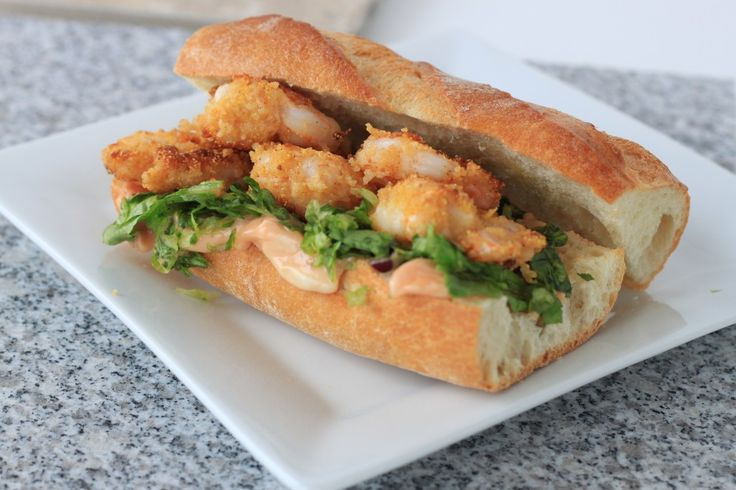 Shrimp Po'Boys | Recipe