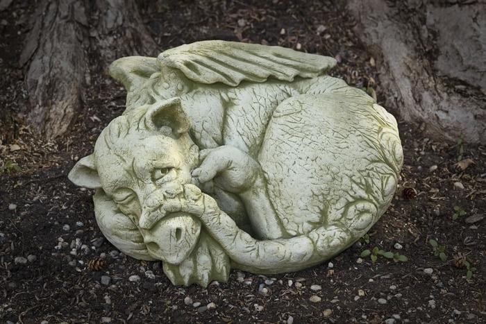 Peep Dragon Garden Statue Dragons Pinterest