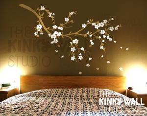 Vinyl Wall Sticker Decal Art Cherry Blossom Dreams by KinkyWall