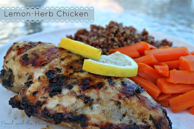 Lemon Herb Chicken | Poultry | Pinterest