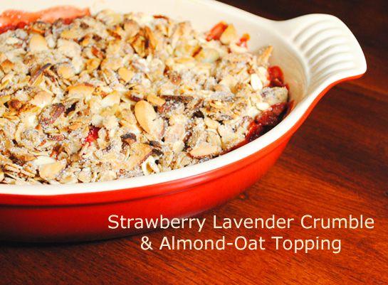 Apricot, Almond & Strawberry Crumble Recipes — Dishmaps