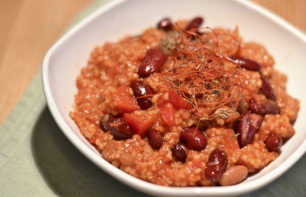 ... and roasted tomato bulgur salad lamb and bulgur stuffed acorn squash