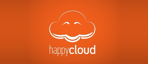 cloud-logo 13: happy cloud