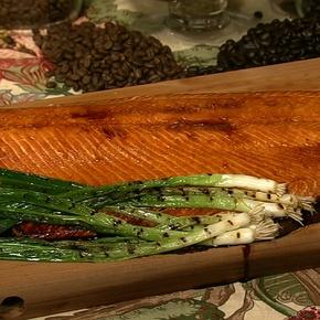 Cedar Plank Salmon | EATING | Pinterest