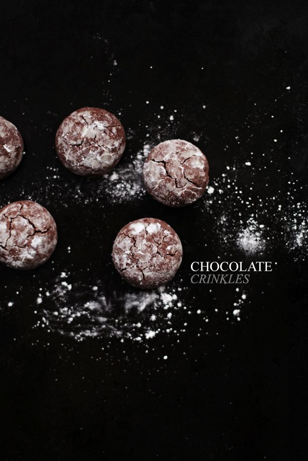 Chocolate Crinkles Recipe — Dishmaps