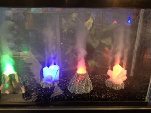 Fish tank volcano new volcano in fish tank 20 gallon for New fish tank