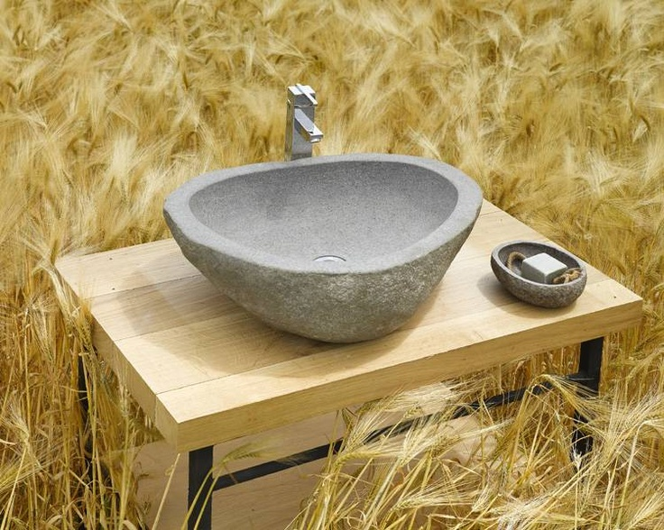 River Stone Sink : River Stones
