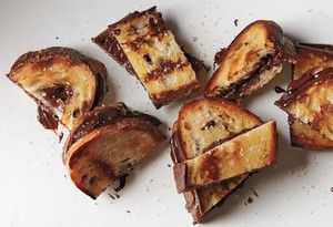 Grilled Chocolate Sandwiches | Desserts | Pinterest