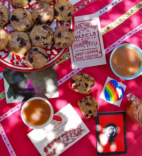 Gluten Free Vegan Blueberry Corn Muffins | Food | Pinterest