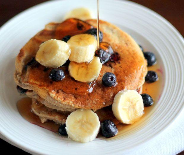 Oatmeal Cottage Cheese Banana Pancakes Recipe - RecipeChart.com